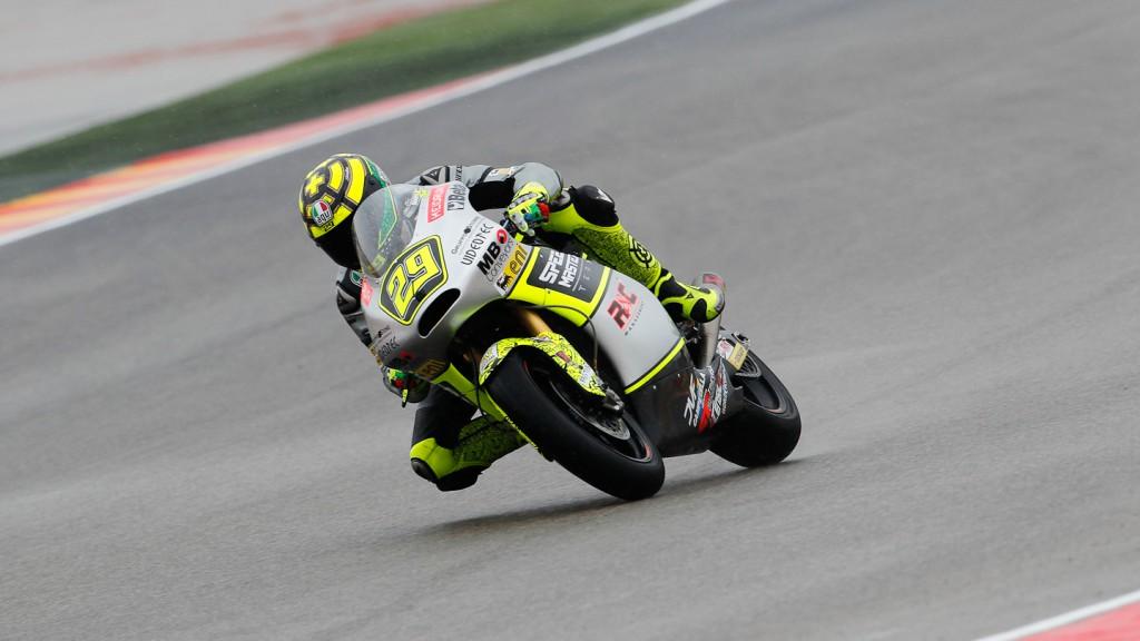 Andrea Iannone, Speed Master, Aragón FP2