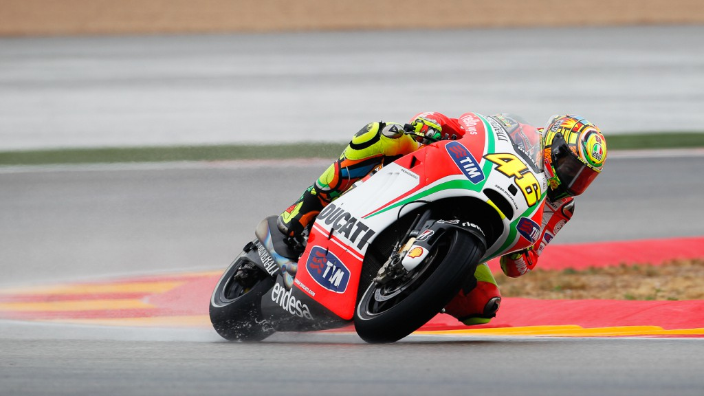 Valentino Rossi, Ducati Team, Aragón FP2