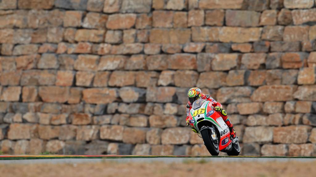 Valentino Rossi, Ducati Team, Aragón FP1