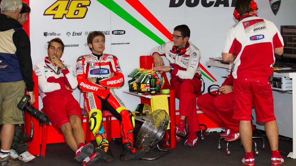 Valentino Rossi, Ducati Team, Aragón