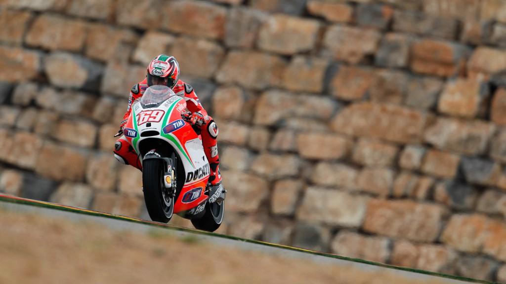 Nicky Hayden, Ducati Team, Aragón FP1