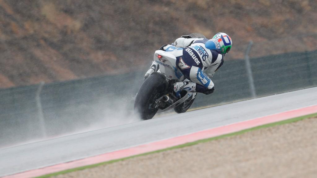CLaudio Corti, Italtrans Racing Team, Aragón FP2
