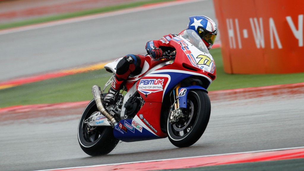 James Ellison, Paul Bird Motorsport, Aragon FP2