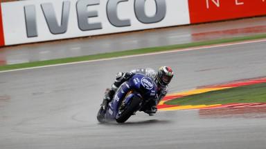 Jorge Lorenzo, Yamaha Factory Racing, Aragón FP2