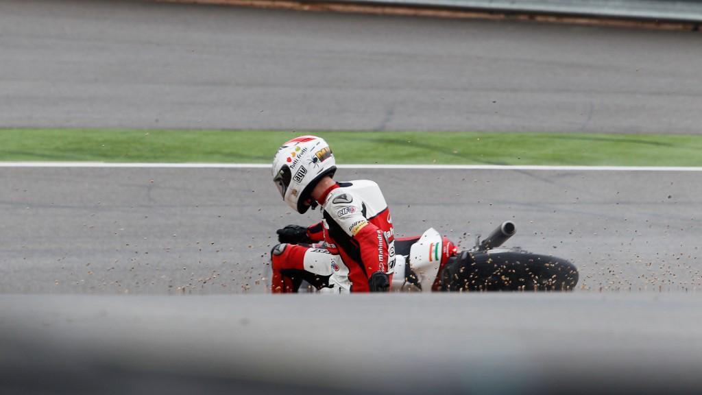 Danny Webb, Mahindra Racing, Aragón FP1