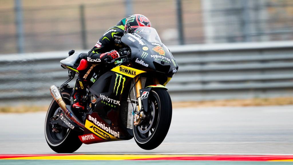 Andrea Dovizioso, Monster Yamaha Tech 3, Aragón QP