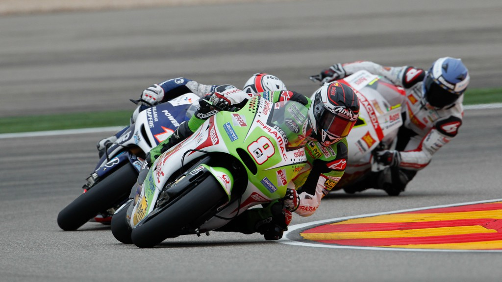 Hector Barbera, Pramac Racing Team, Aragón QP