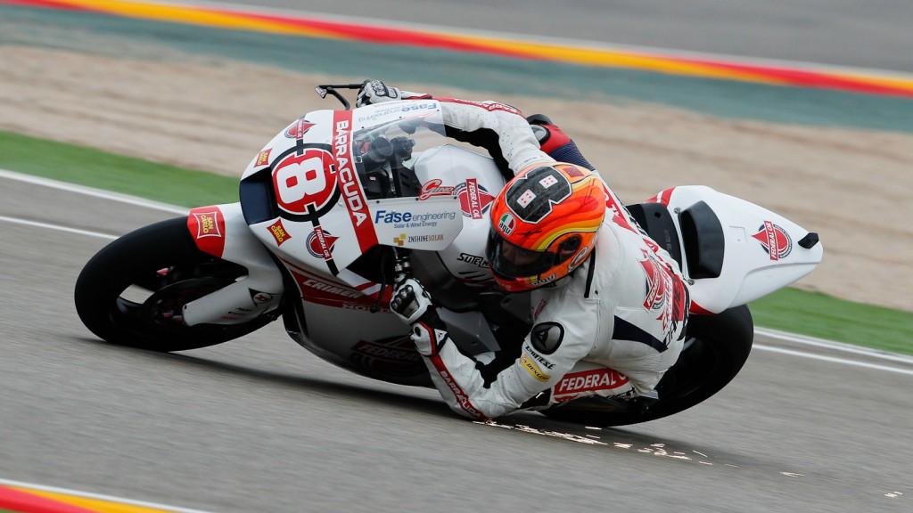 Gino Rea, Federal Oil Gresini Moto2, Aragón QP