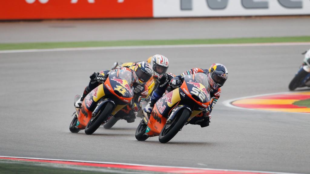 Danny Kent, Sandro Cortese, Red Bull KTM Ajo, Aragón FP3