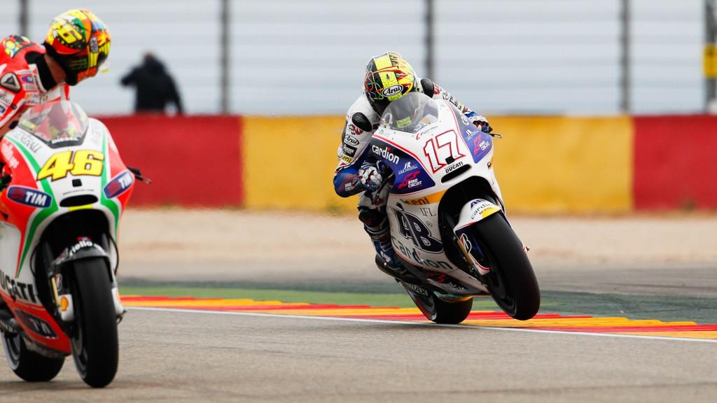 Karel Abraham, Cardion AB Motoracing, Aragón QP