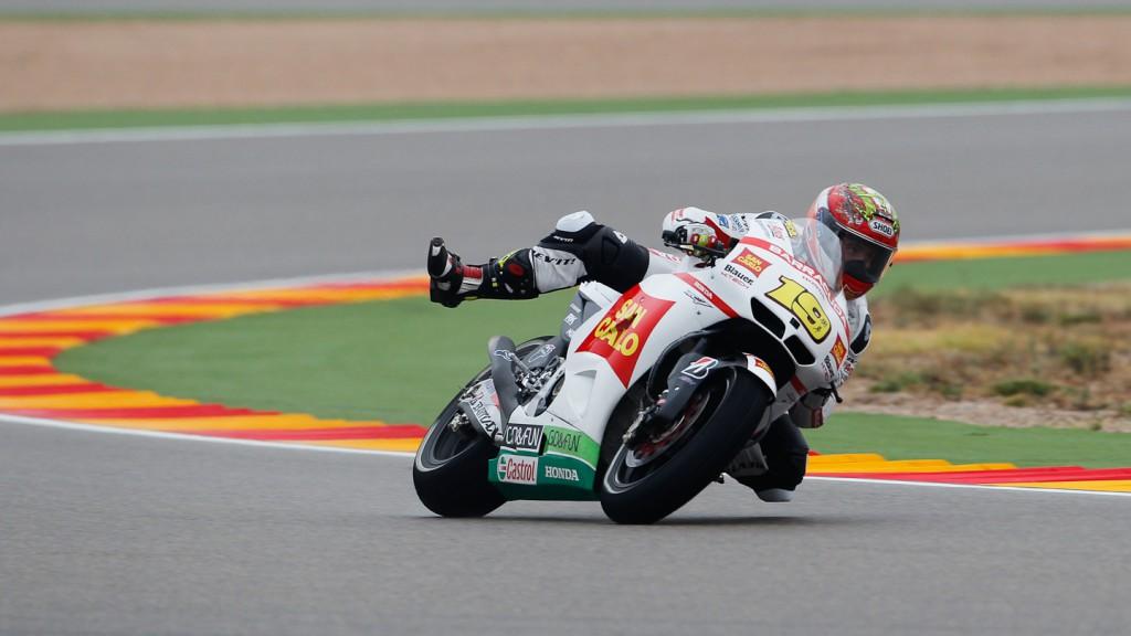 Alvaro Bautista, San Carlo Honda Gresini, Aragón FP3