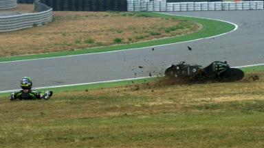 Aragon 2012 - MotoGP - FP3 - Action - Cal Crutchlow - Crash