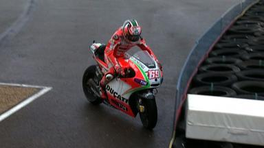 undefined 2012 - MotoGP - FP3 - Action - Nicky Hayden