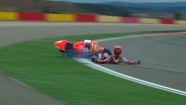 Aragon 2012 - Moto2 - QP - Action - Jordi Torres - Crash