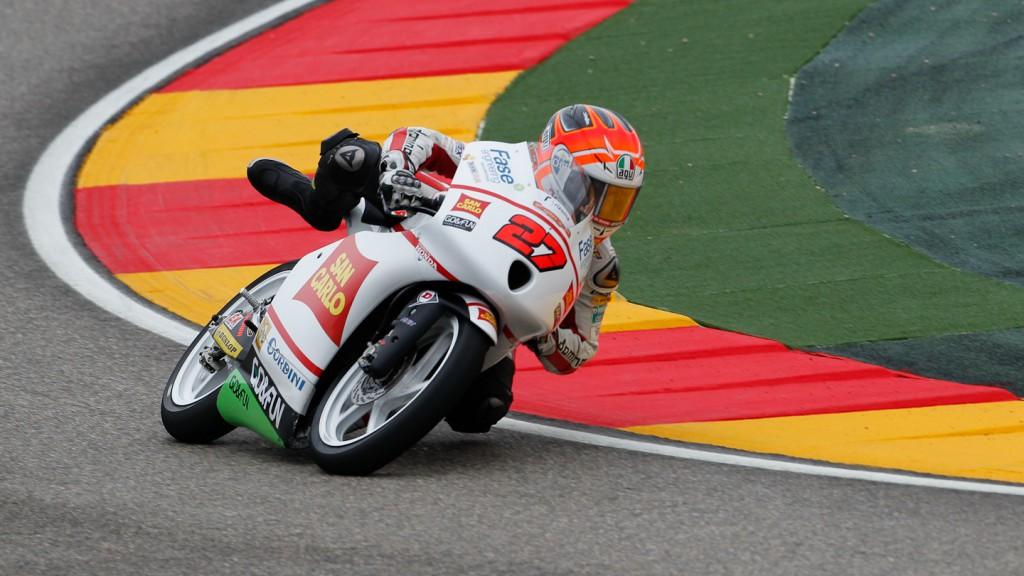 Antonelli Niccolo, San Carlo Honda Gresini Moto3, Aragón QP