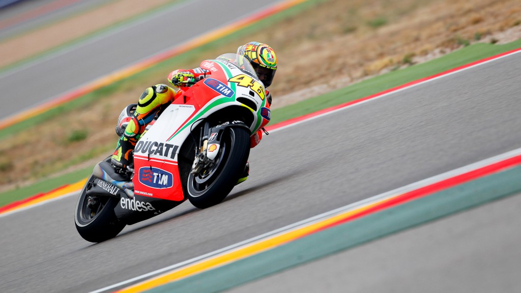 Valentino Rossi, Ducati Team, Aragón QP