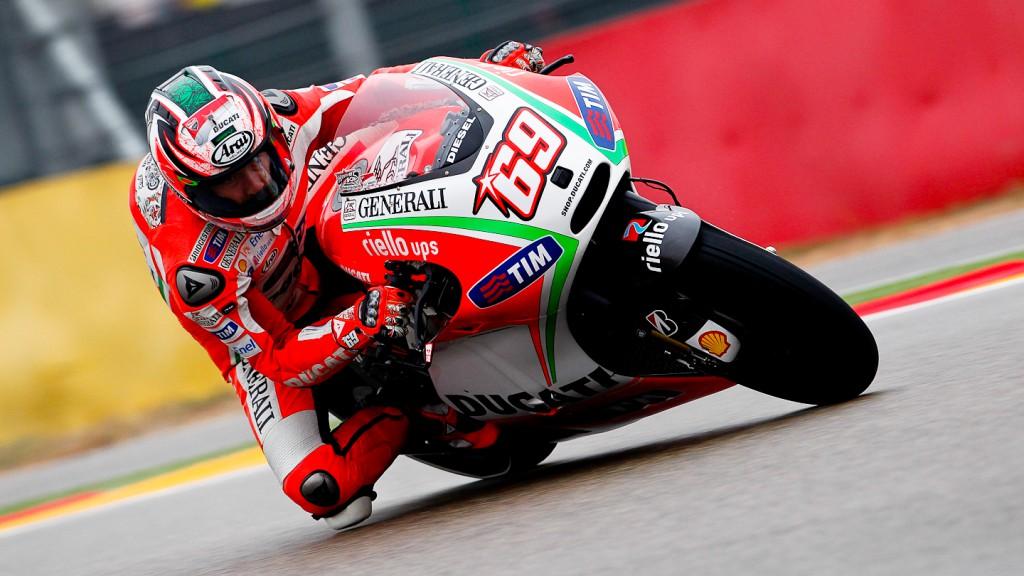 Nicky Hayden, Ducati Team, Aragón QP