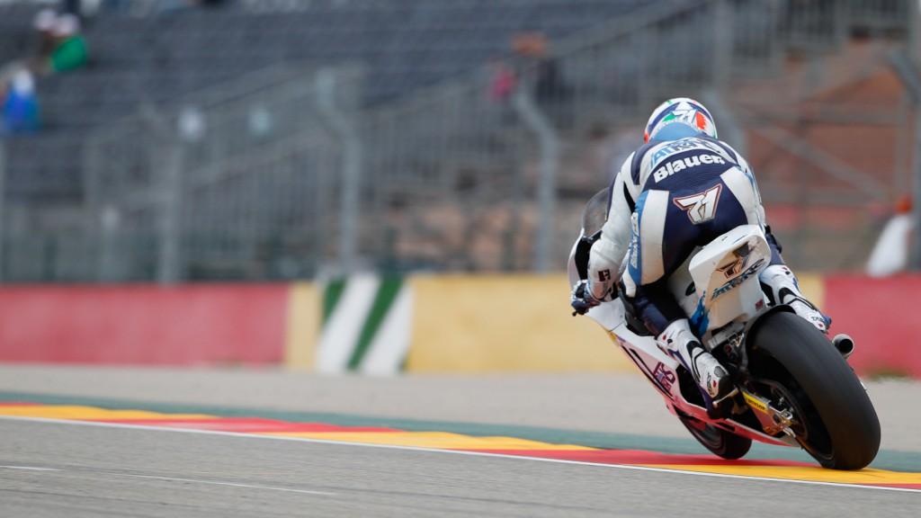 Claudio Corti, Italtrans Racing Team, Aragón QP