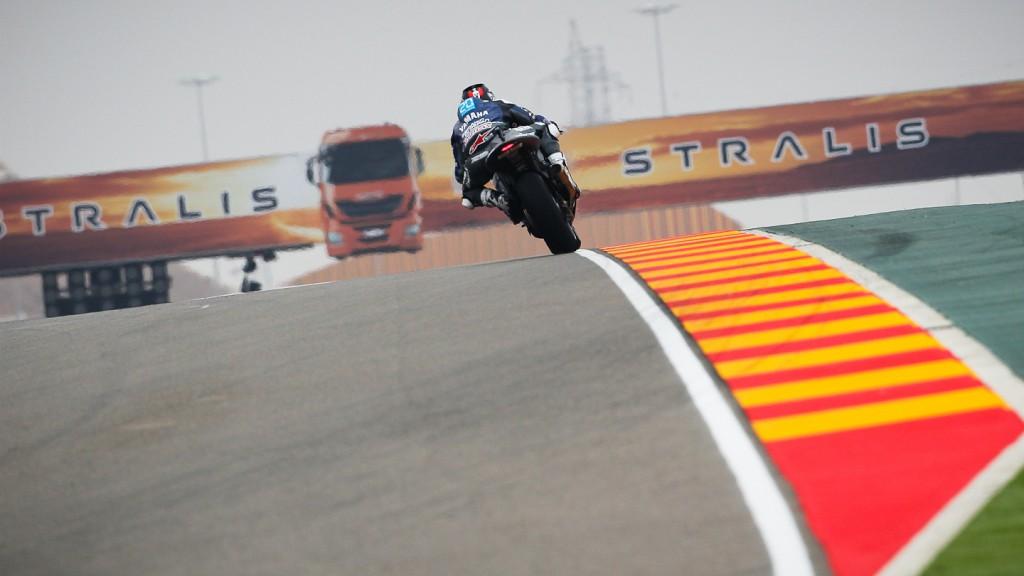 Jorge Lorenzo, Yamaha Factory Racing, Aragón QP