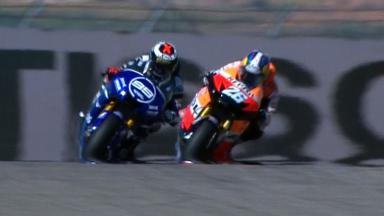 Aragon 2012 - MotoGP - RACE - Action - Race winning overtake