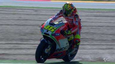 Aragon 2012 - MotoGP - RACE - Action - Valentino Rossi