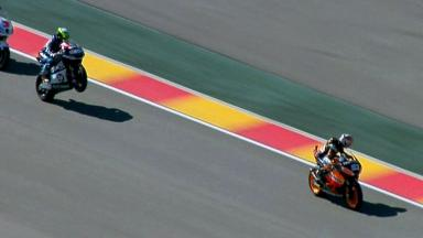 Aragon 2012 - Moto2 - RACE - Action - Espargaro and Marquez
