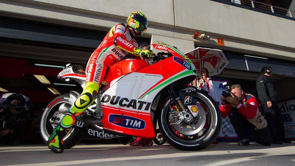 Valentino Rossi, Ducati Team, Aragón RAC