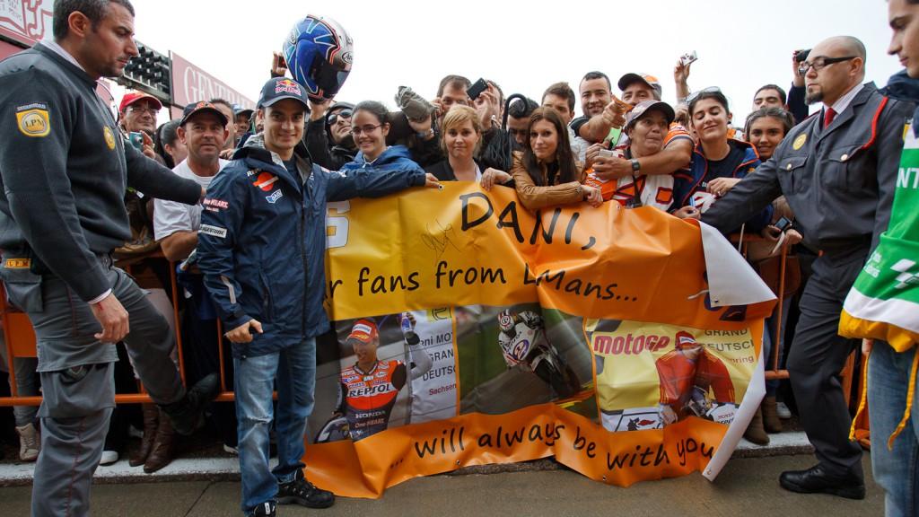 2011 Day of Champions, Comunitat Valenciana Circuit, Dani Pedrosa, Repsol Honda Team,