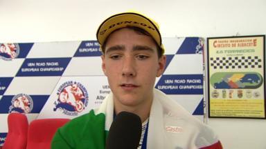 2012 - European Championship  - Interview - Moto3- Matteo Ferrari