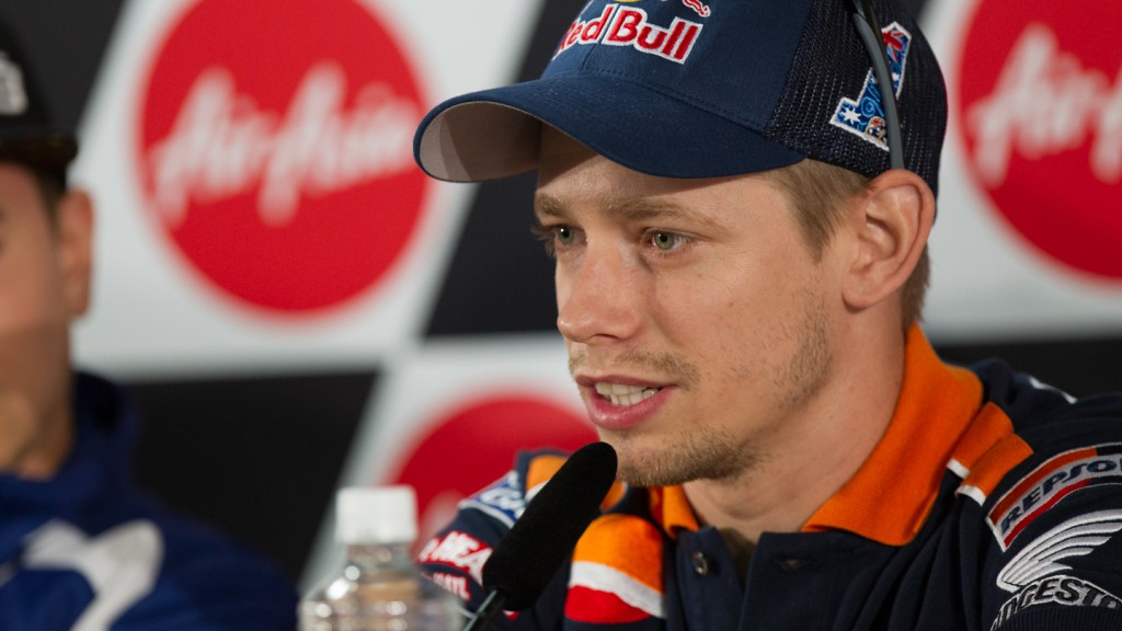 Casey Stoner, Repsol Honda Team, Airasia Grand Prix of Japan Press Conference
