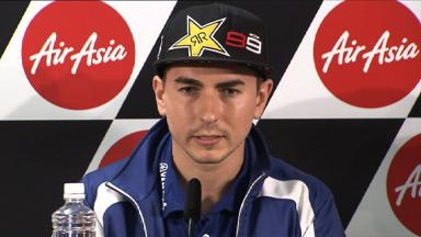 Lorenzo on importance of points