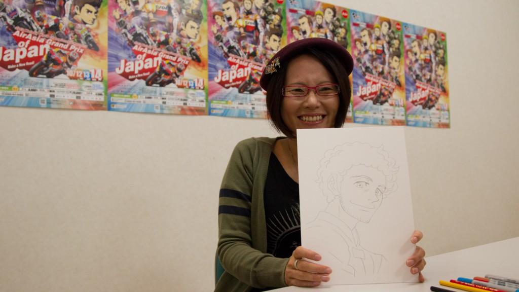Manga Artist Ranka, MotoGP Manga Preevent, Motegi