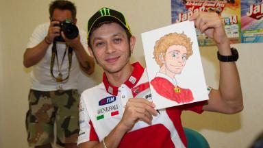 Valentino Rossi, MotoGP Manga Preevent, Motegi