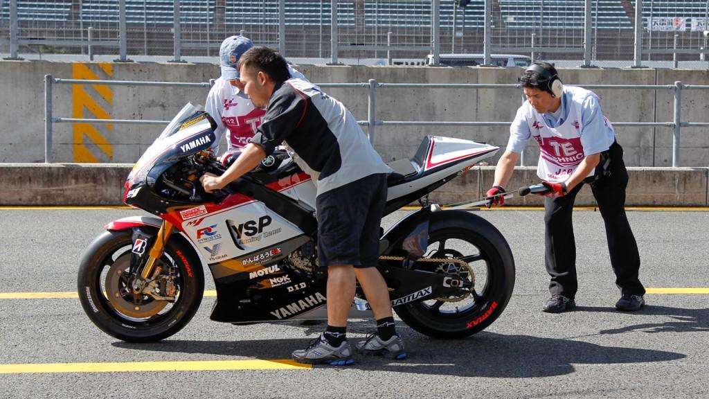 Katsuyuki Nakasuga bike, Yamaha YSP Racing Team