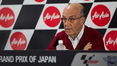 Dorna Sports CEO, Carmelo Ezpeleta, Airasia Grand Prix of Japan Press Conference