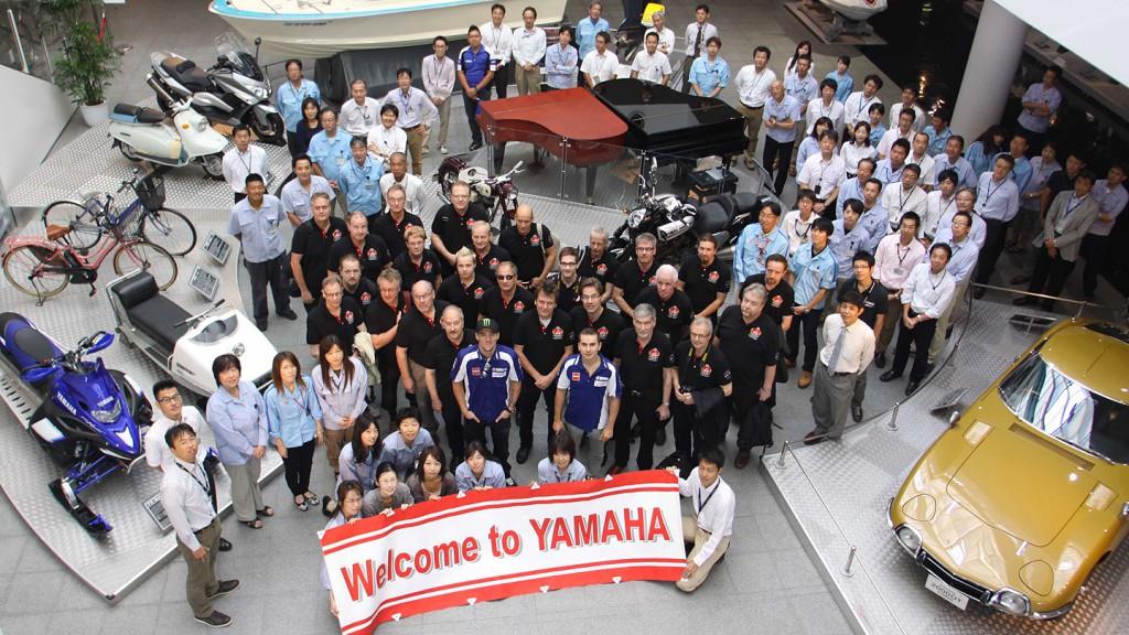 Lorenzo, Spies, Yamaha Factory Racing - Yamaha Factory Iwata