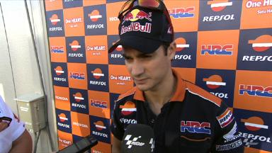 Pedrosa pleased with Motegi grip levels