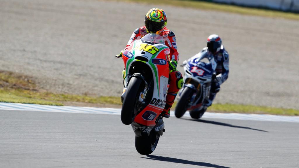 Valentino Rossi, Ducati Team, Motegi FP2
