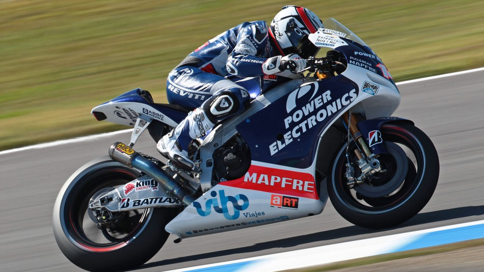 Randy de Puniet, Power ELectronics Aspar, Motegi FP2