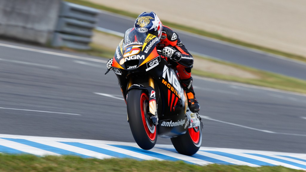 Colin Edwards, NGM Mobile Forward Racing, Motegi QP