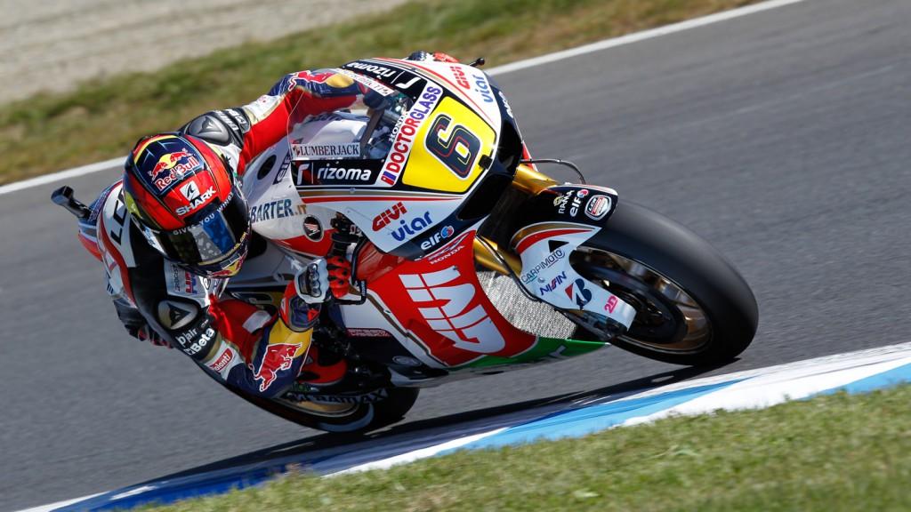 Stefan Bradl, LCR Honda MotoGP, Motegi QP
