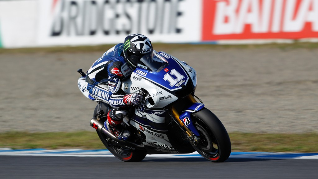 Ben Spies, Yamaha Factory Racing, Motegi FP3