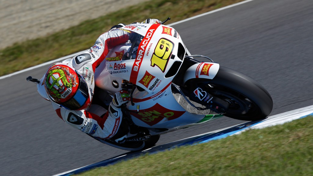 Alvaro Bautista, San Carlo Honda Gresini, Motegi QP