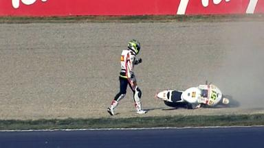 Motegi 2012 - MotoGP - QP - Action - Michele Pirro - Crash