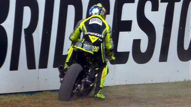 Motegi 2012 - Moto2 - QP - Action - Andrea Iannone