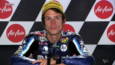 Motegi 2012 - Moto2 - QP - Interview - Esteve Rabat