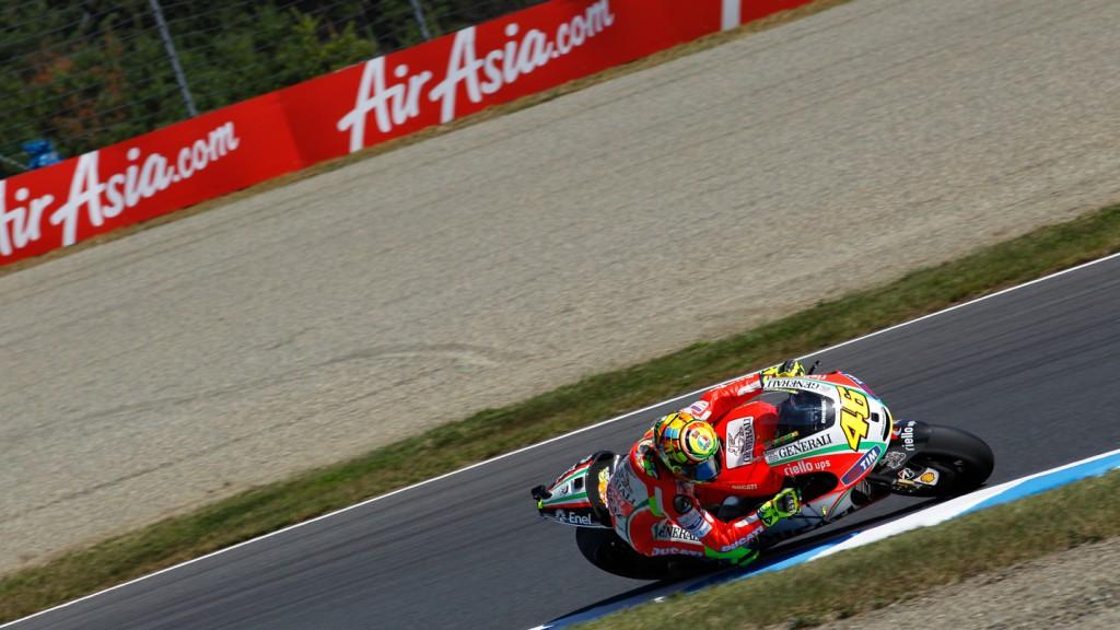 Valentino Rossi, Ducati Team, Motegi QP