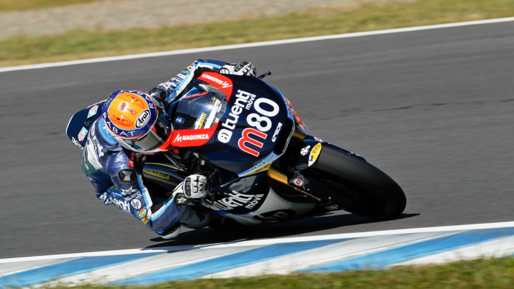 Esteve Rabat, Tuenti Movil HP 40, Motegi QP