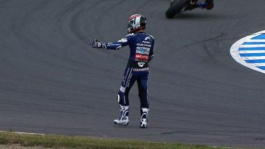 Motegi 2012 - MotoGP - RACE - Action - Randy De Puniet - Crash