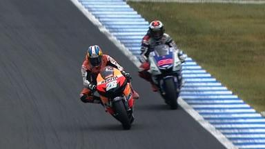 Motegi 2012 - MotoGP - RACE - Action - Race winning overtake